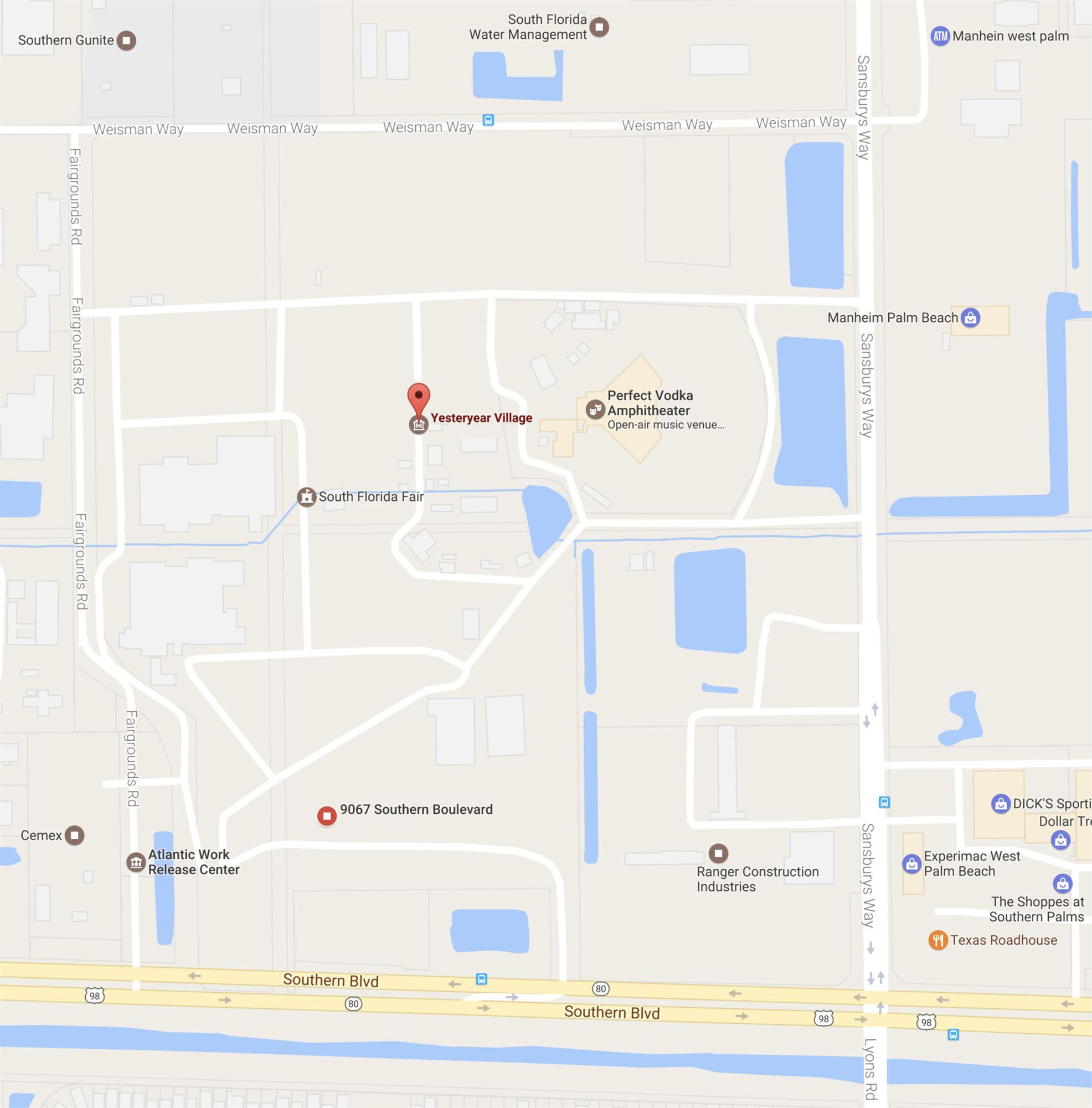 Yesteryear Village Google Map