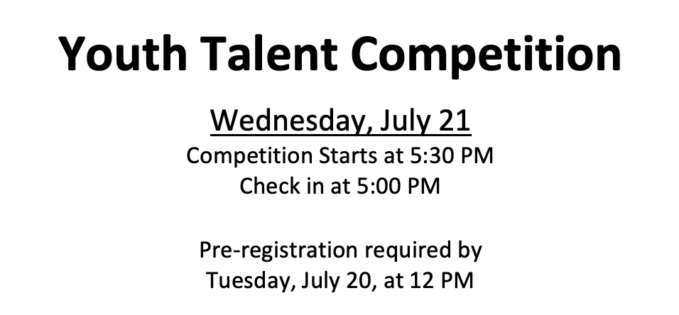 Hendricks County 4-H Fair Youth Talent Competition Presented by WYRZ