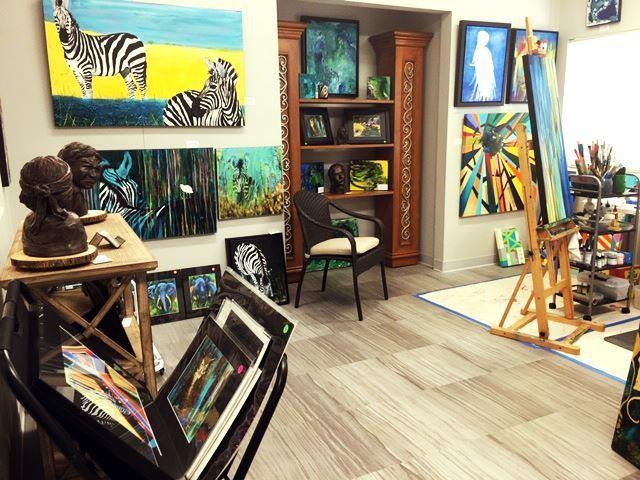 Coleen Bradfield- In Studio Artist