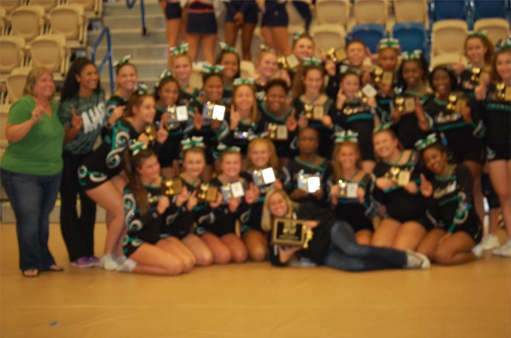 Arundel High School Varsity Fall 3A/4A Cheerleading Champions