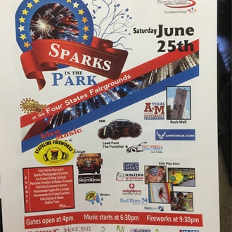 Sparks in the Park Fun
