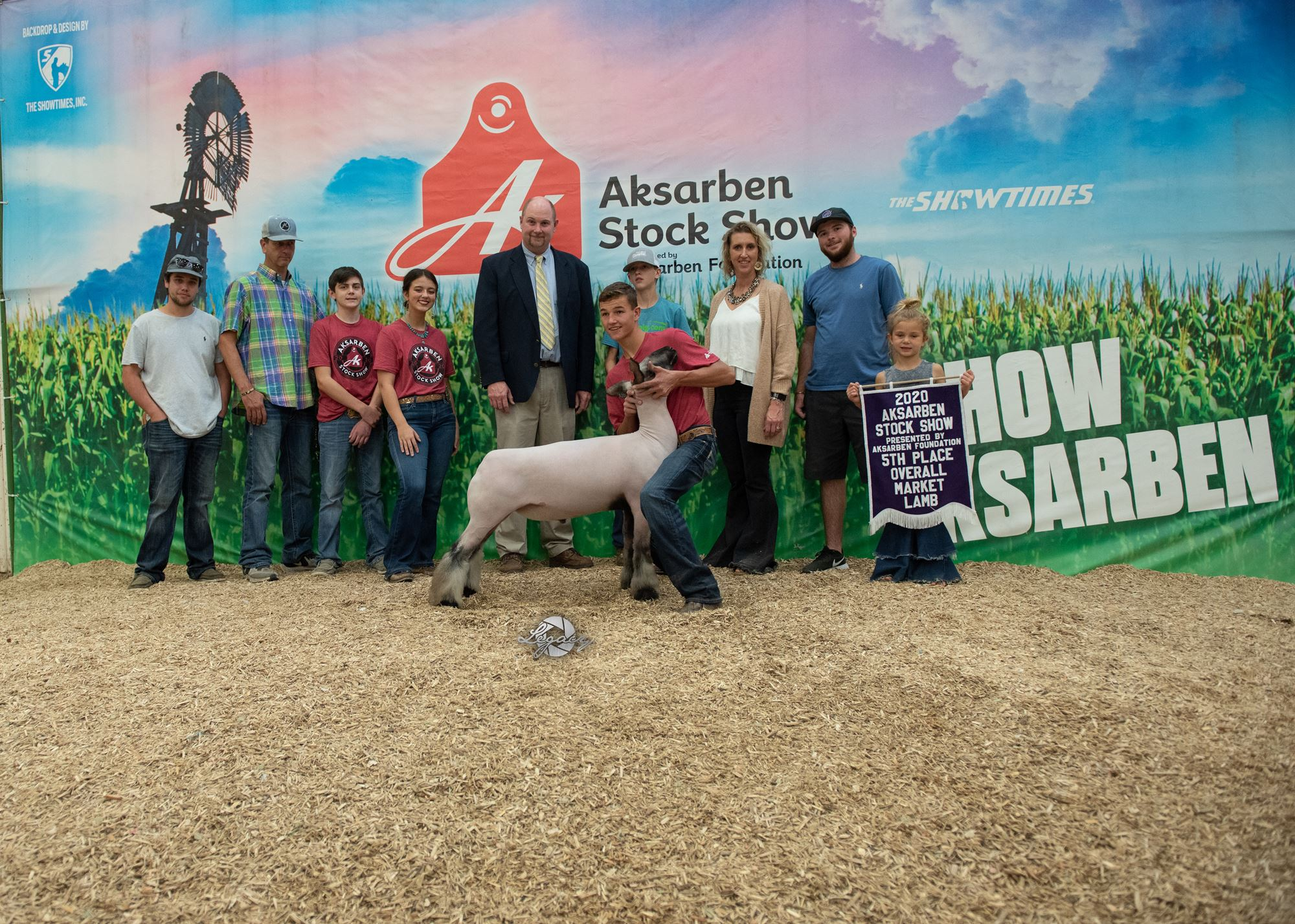 5th Overall Market Sheep