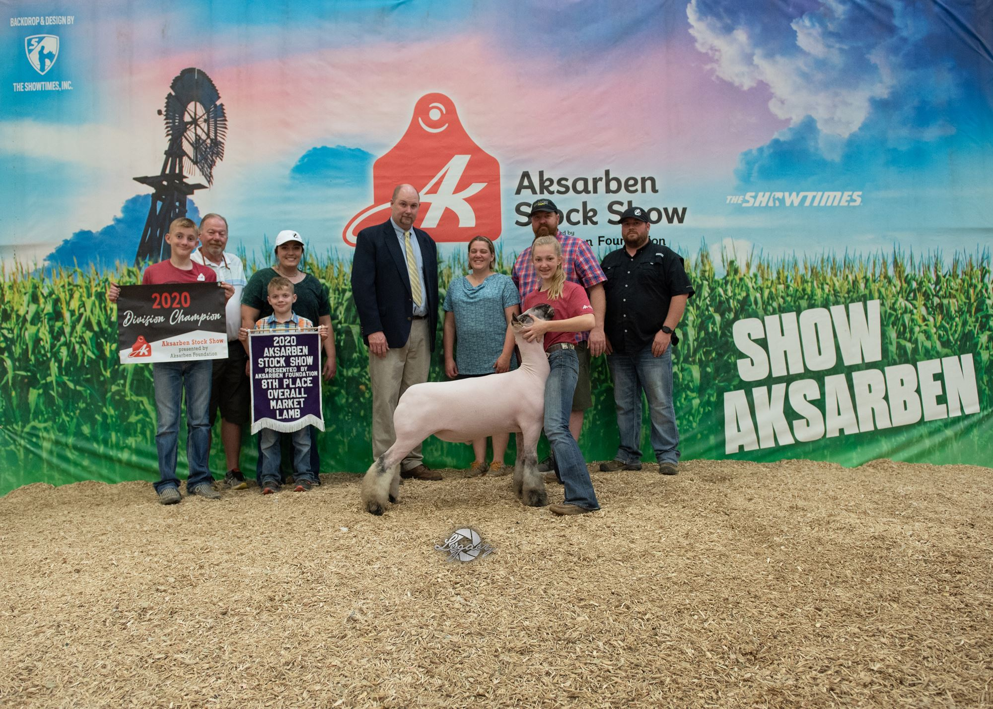 8th Overall Market Sheep
