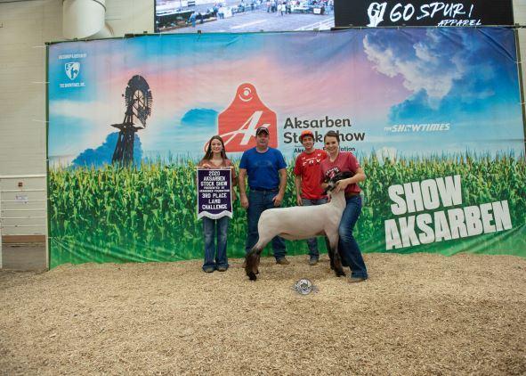 3rd Overall Lamb Challenge