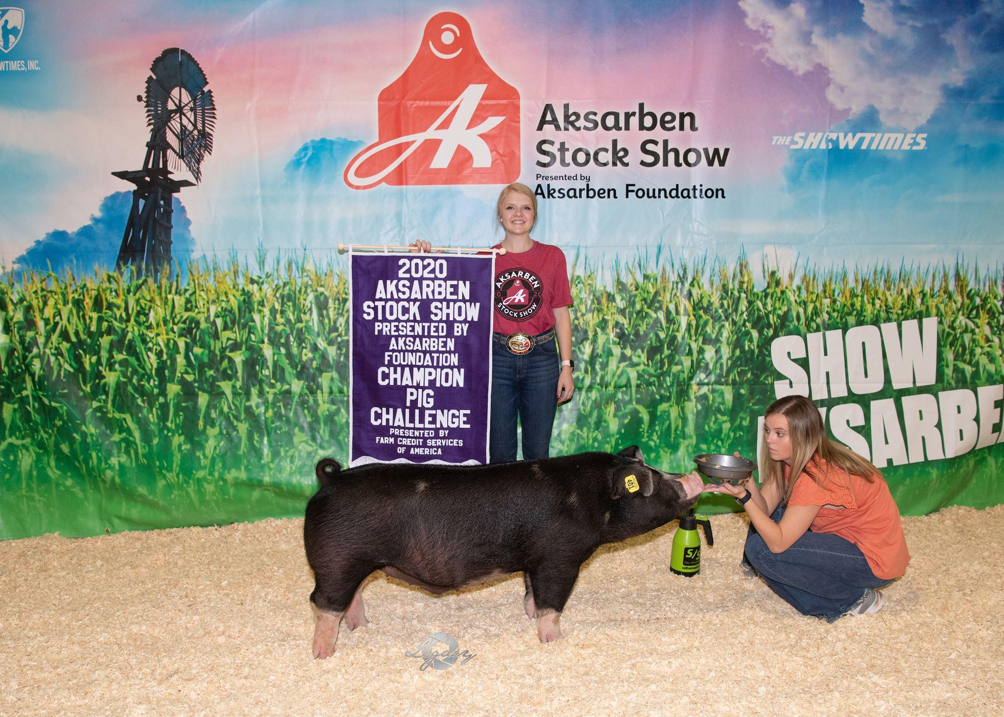 Grand Champion Pig Challenge