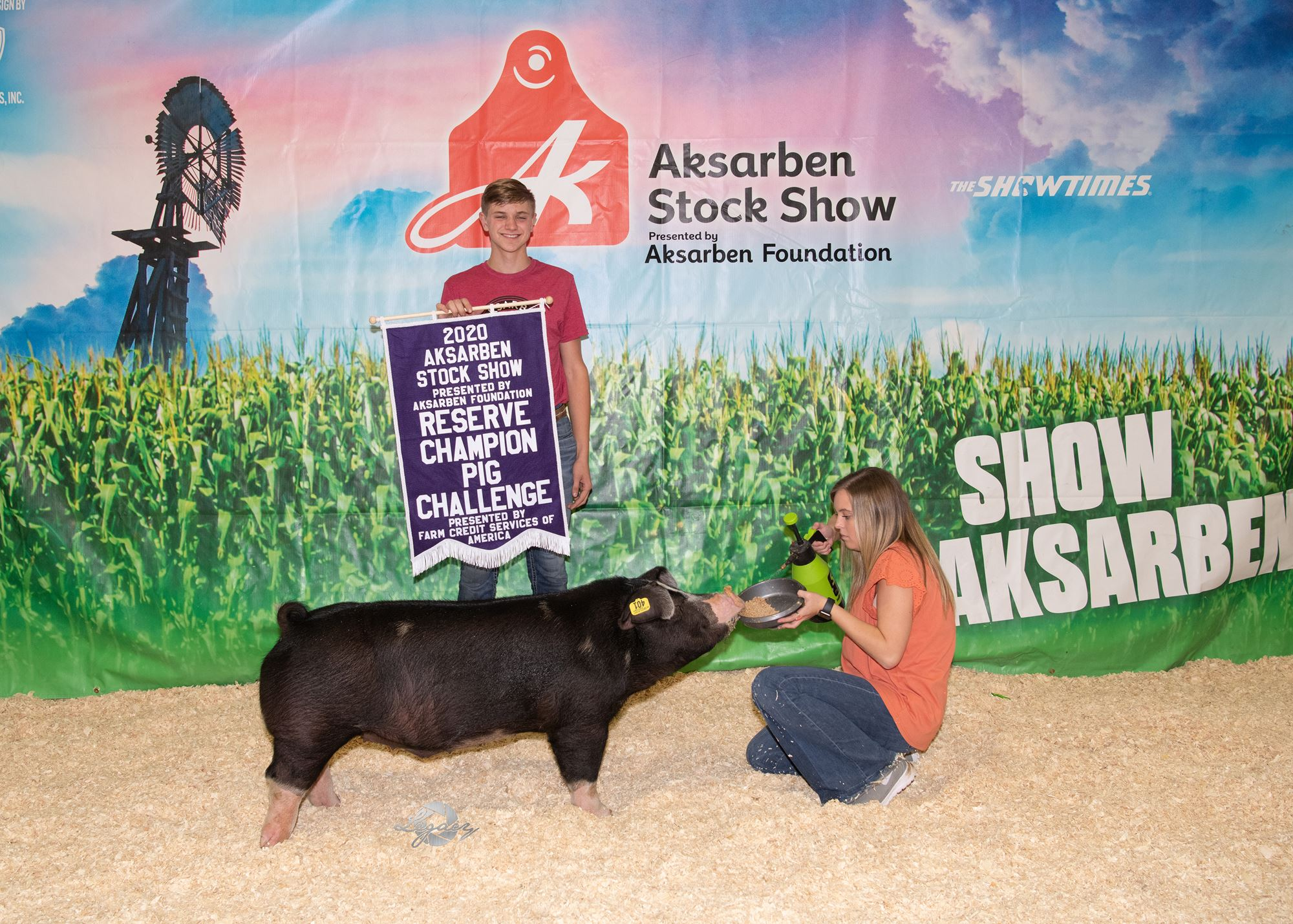 Reserve Grand Champion Pig Challenge