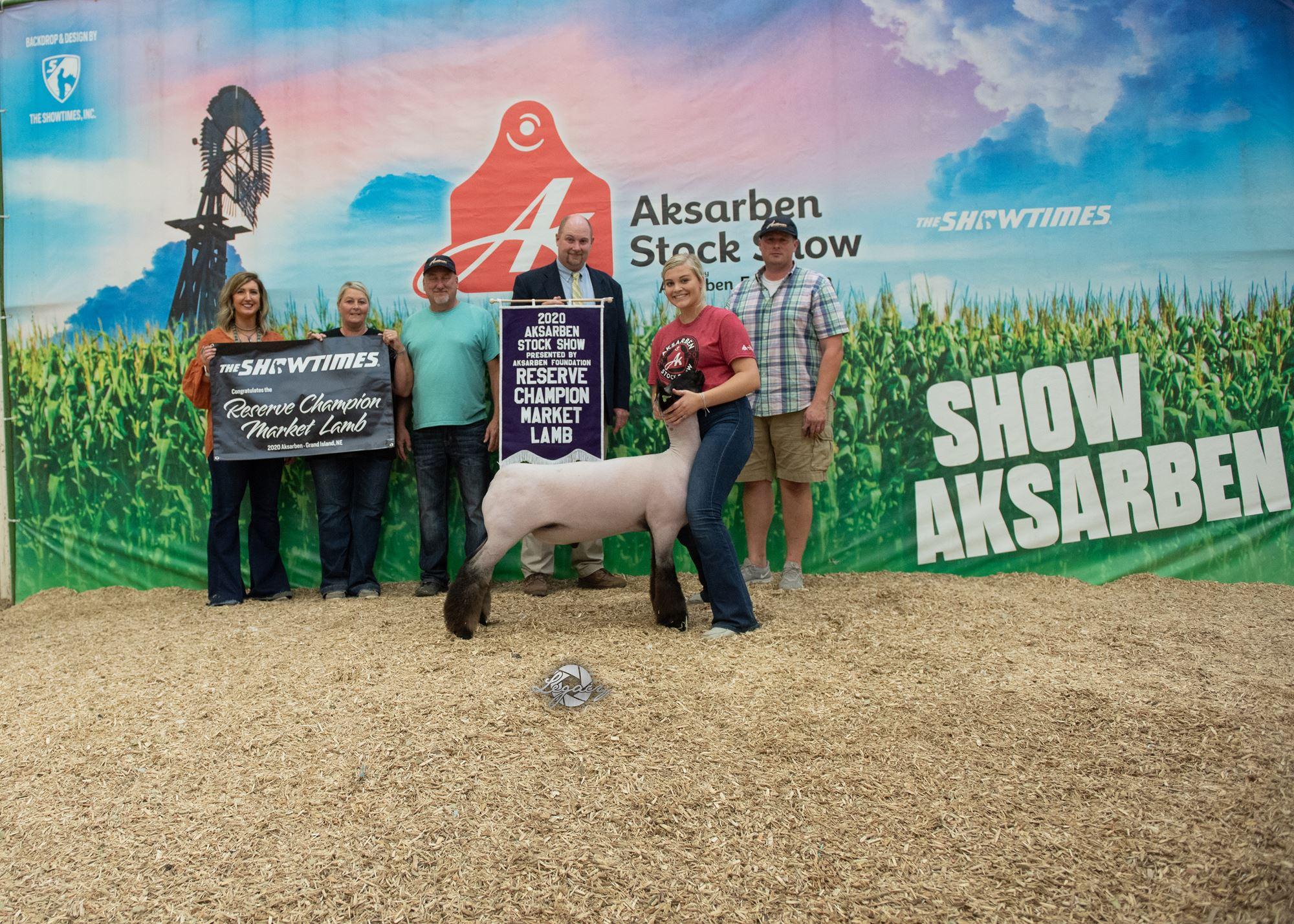 Reserve Champion Market Sheep