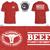 Comfort Colors ACA T-Shirt Red