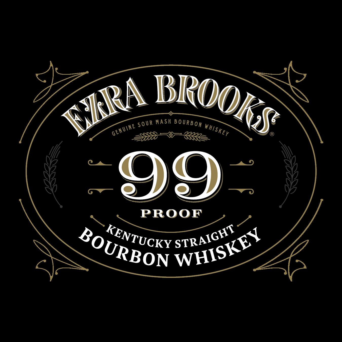 Ezra Brooks Bourbon Whiskey