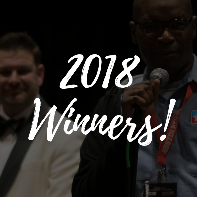 2018 Winners