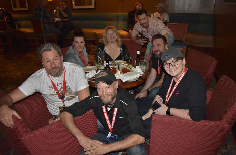 Filmmakers at ARFF 2018 - Photo courtesy of Robin Smith