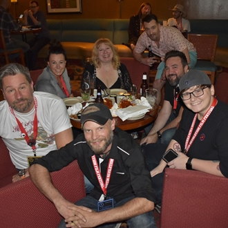 Filmmakers at ARFF 2018 - Photo courtesy of Robin Smith