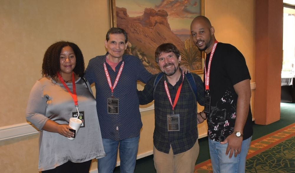 Filmmakers and Friends at ARFF 2018 - Photo courtesy of Robin Smith