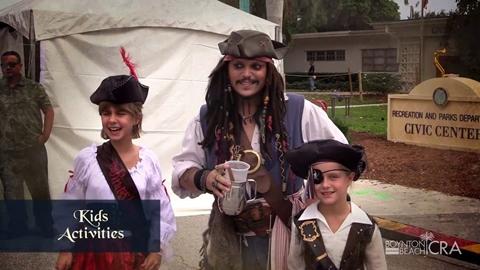 6th Annual Boynton Beach Haunted Pirate Fest & Mermaid Splash