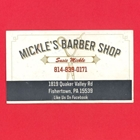 Mickle's Barber Shop - Susie Mickle