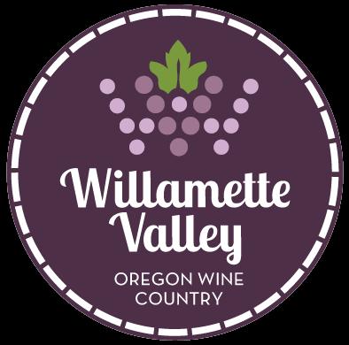 Willamette Valley Oregon Wine Country logo