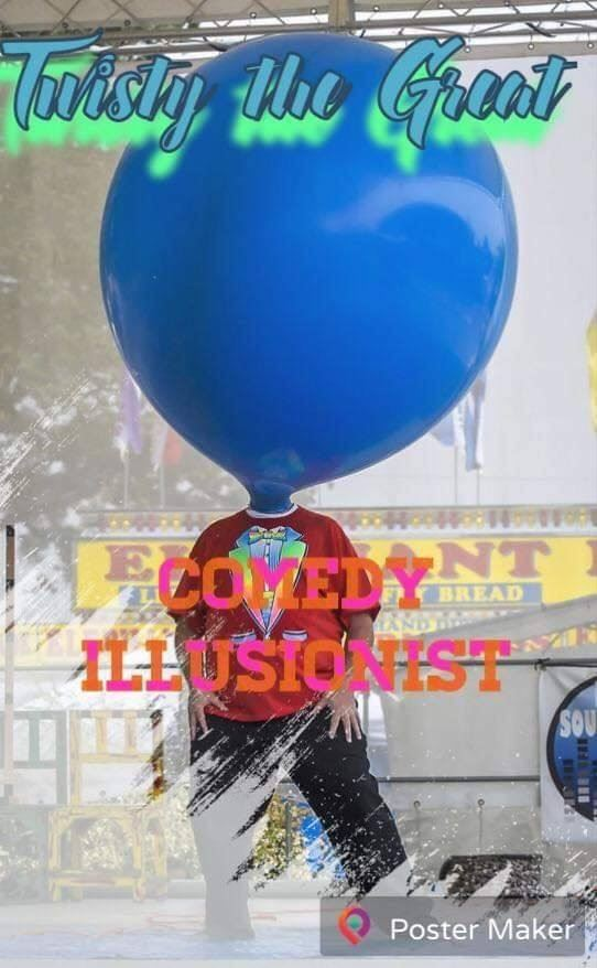Twisty the Great Comedy Illusionist