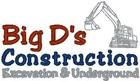 Big D's Construction Logo