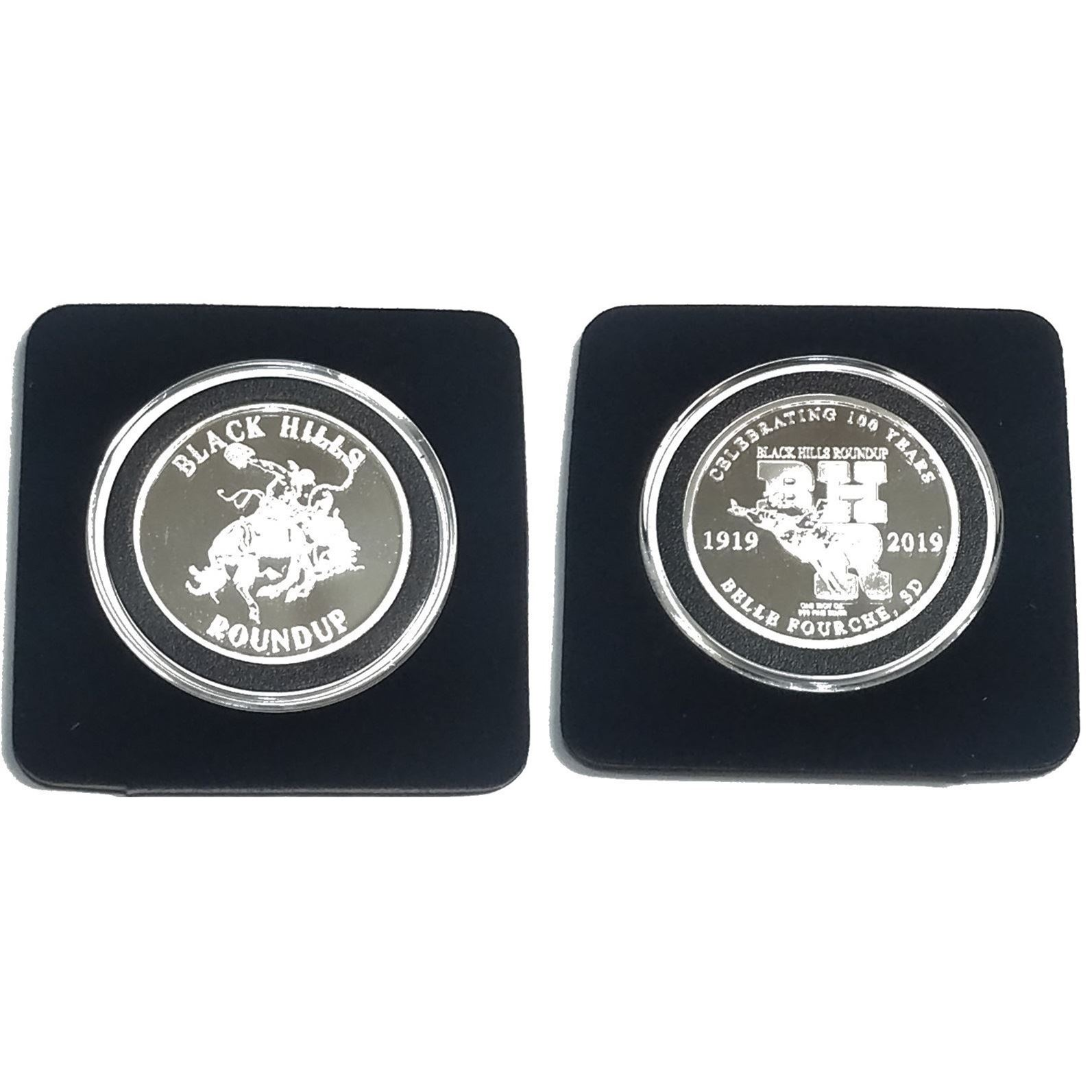 Black Hills Roundup Silver Coin