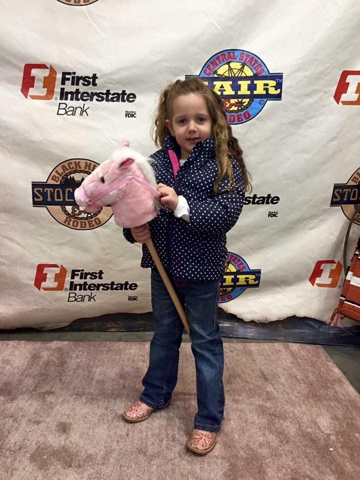 World's Smallest Rodeo contestant Remi Crago