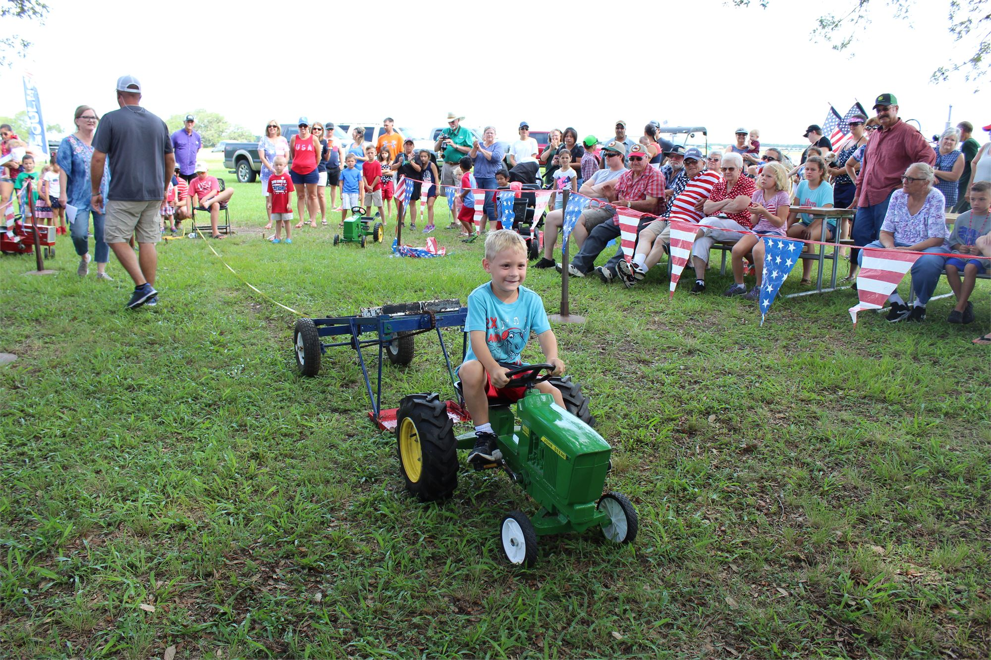 Kiddie Pedal Tractor Pull