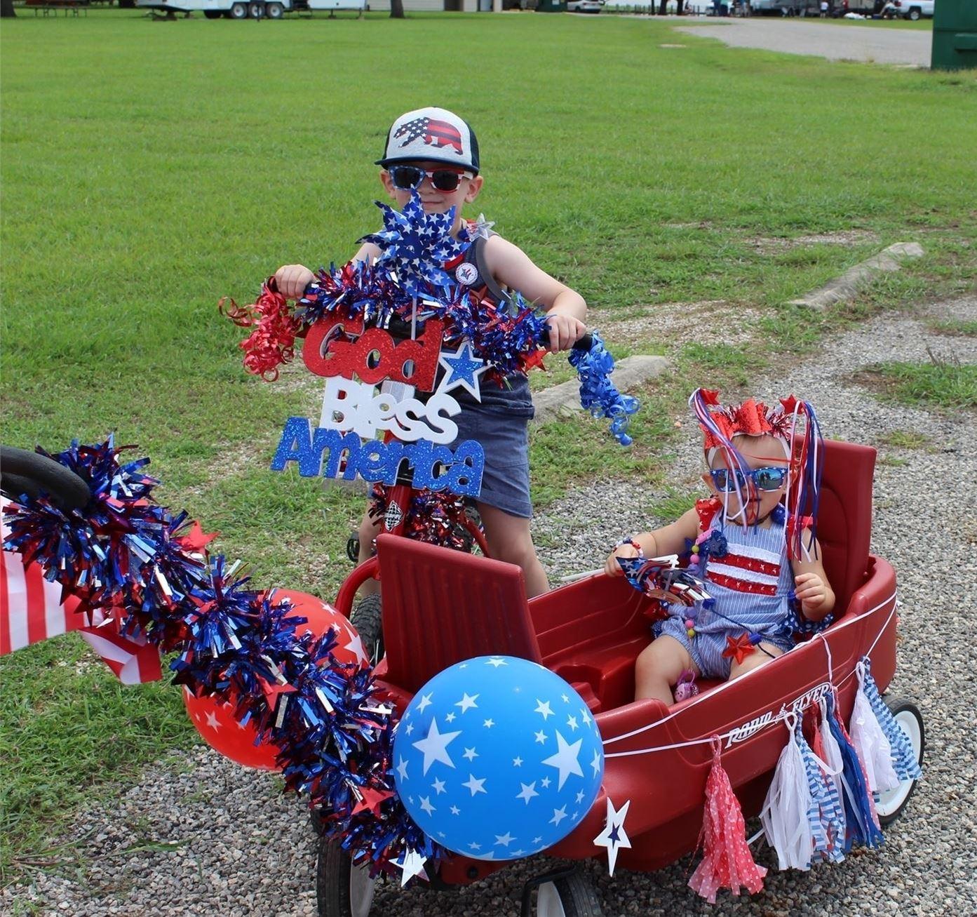 Ride'em-Push'em-Pull'em Parade!