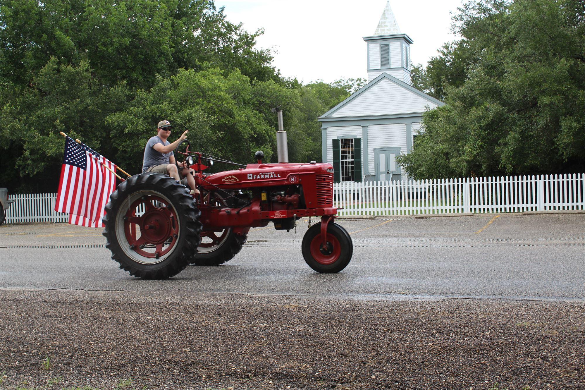 Antique Tractor Parade!