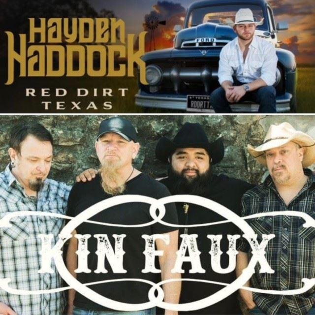Kin Faux & Hayden Haddock