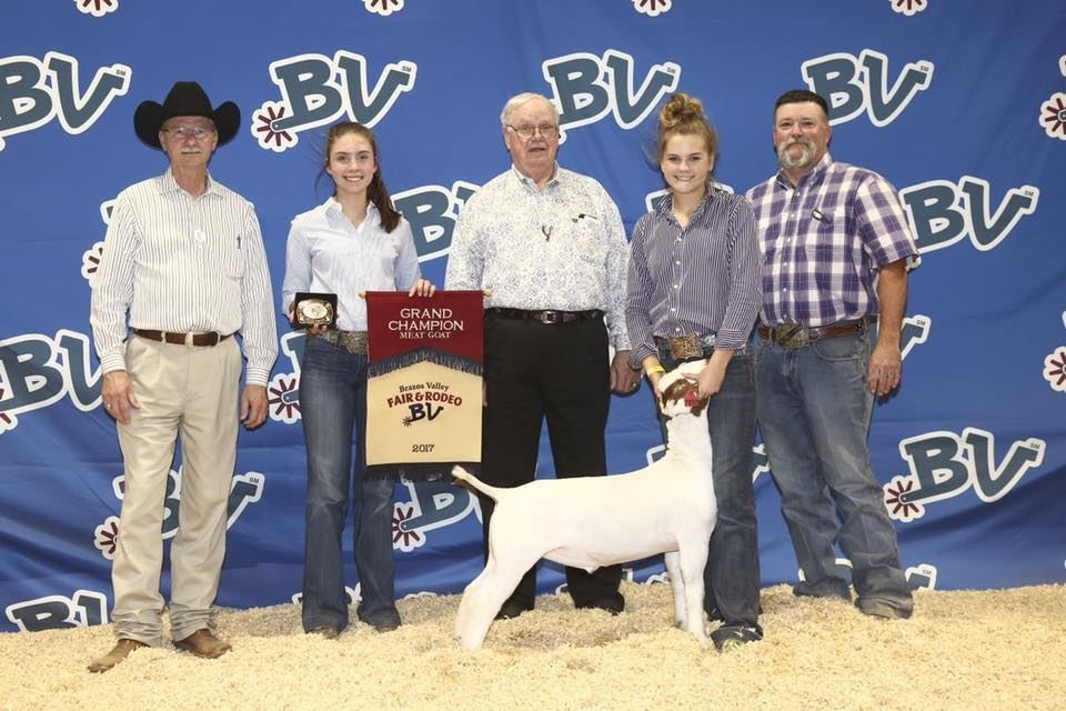 2017 Brazos Valley Fair Grand Champion Market Goat