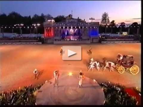 Riata Rancy Cowboy Girls perform for Queen Elizabeth