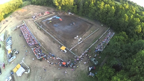 2015 Cass County Fair More Demolition Derby