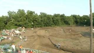 2008 Cass County Fair Motocross Action
