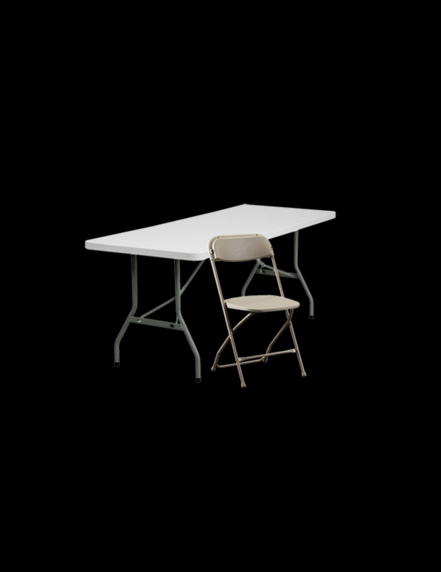 Tables, Chairs, Pipe & Drape