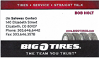 Big O Tires Elizabeth