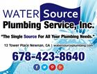 Water Source Plumbing