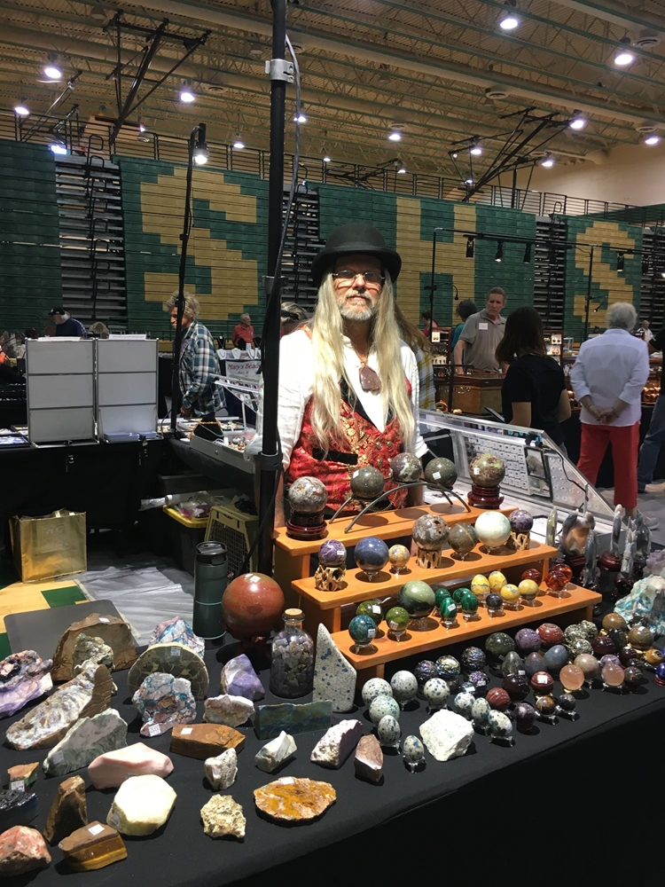 Ampersand Gem & Jewelry Proudly attends Prineville Rock & Gem Show