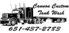 Cannon Custom Tank Wash