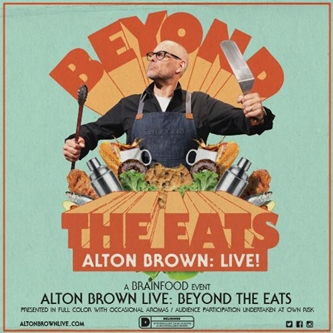 Alton Brown Announces North American Tour