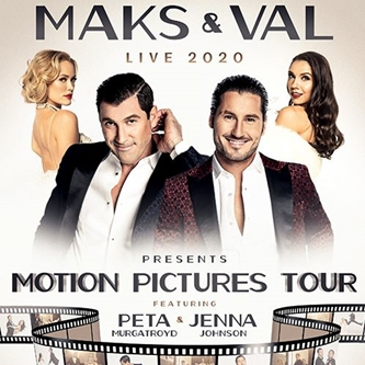 MAKS AND VAL CHMERKOVSKIY ANNOUNCE 57-STOP NATIONWIDE DANCE SHOW MAKS & VAL LIVE 2020