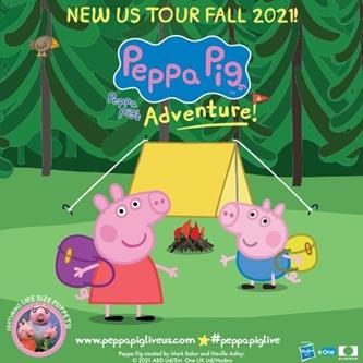Hooray! Peppa Pig LIVE! Peppa Pig's Adventure Will Visit Grand Rapids
