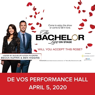 Becca Kufrin and Ben Higgins to Host The Bachelor Live on Stage