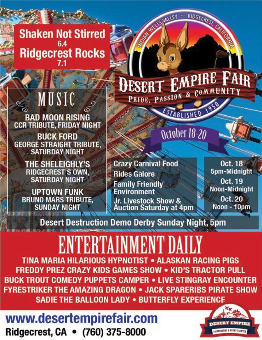 Oct. 18-20: Desert Empire Fair