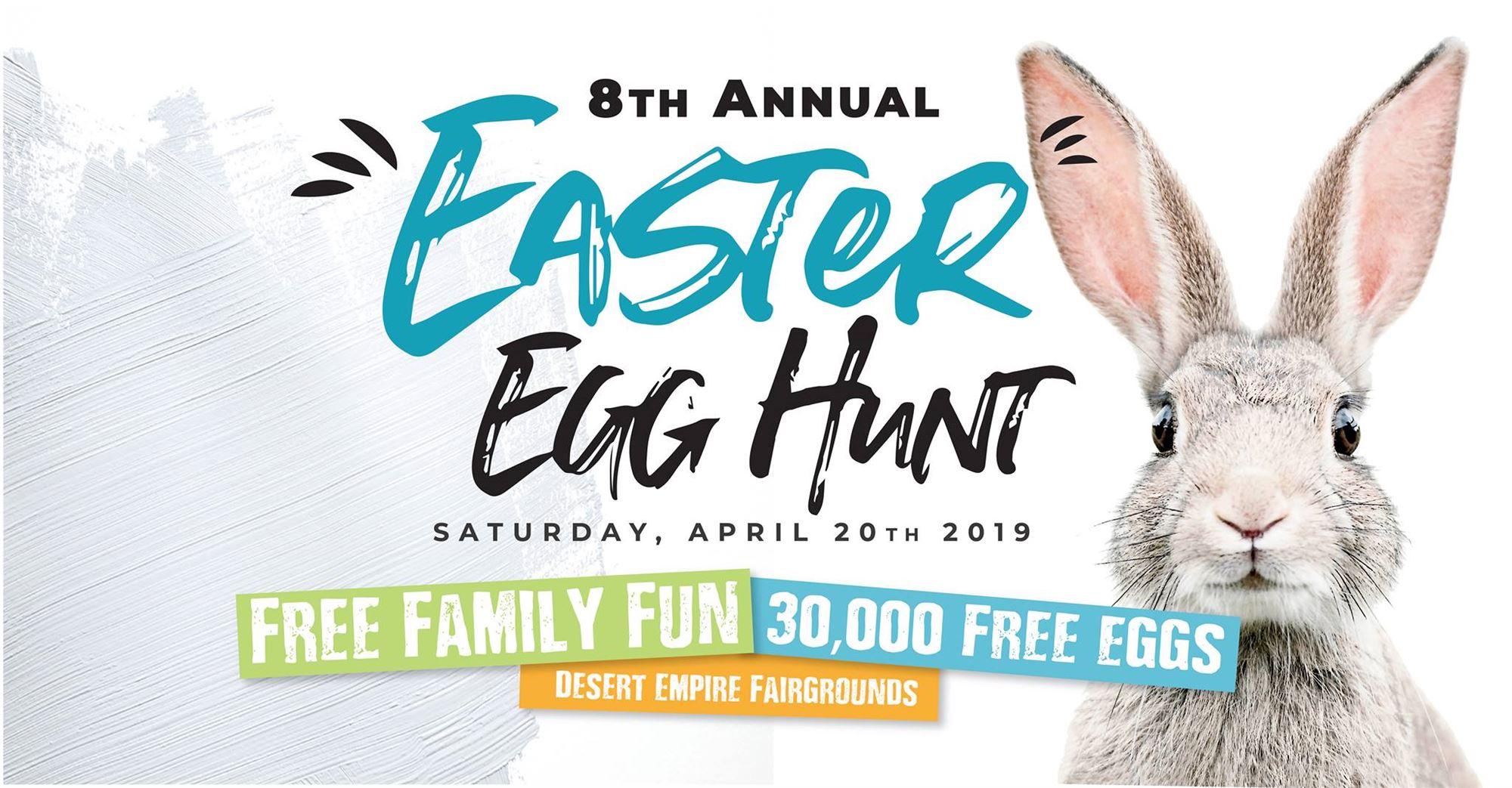 April 20th: Annual Community Easter Egg Hunt
