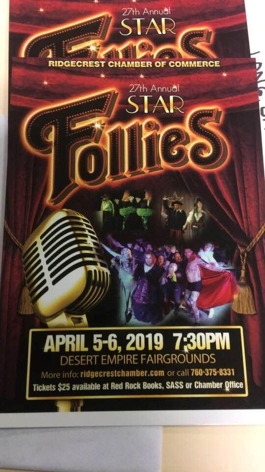 April 5 & 6: Follies