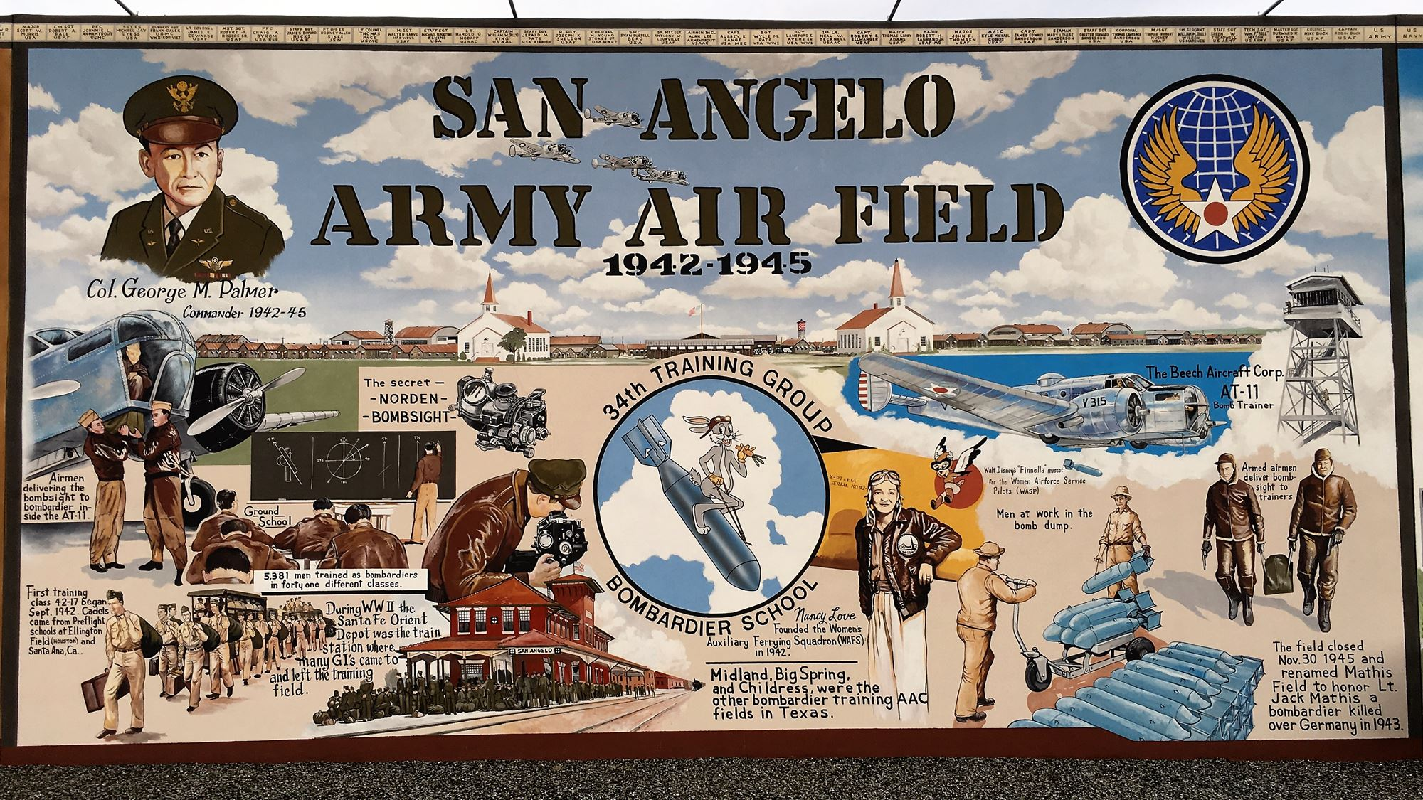 The Military Murals
