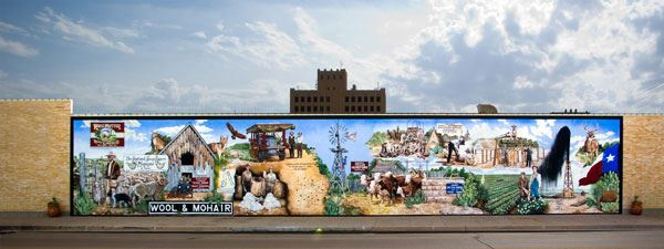 West Texas Ranching Mural