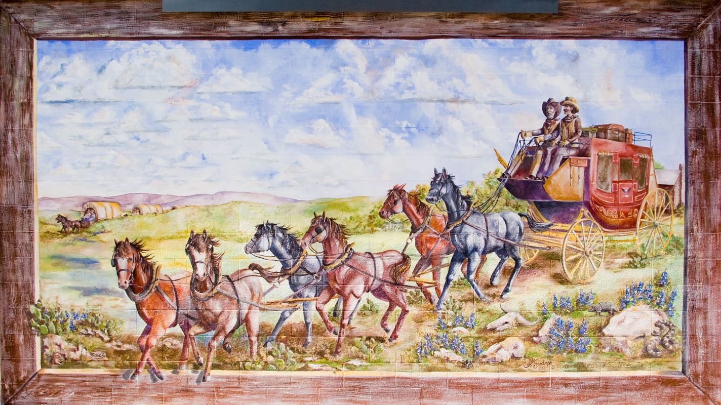 The Stagecoach Mural
