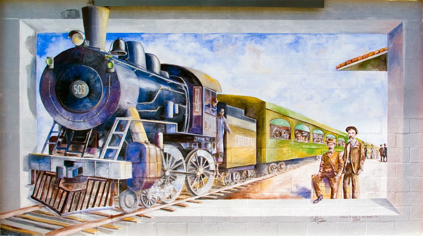 The 503 Iron Horse Mural