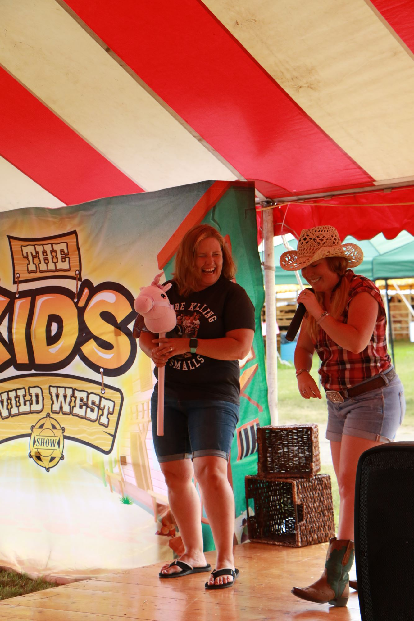 Youth Ag Entertainment Tent