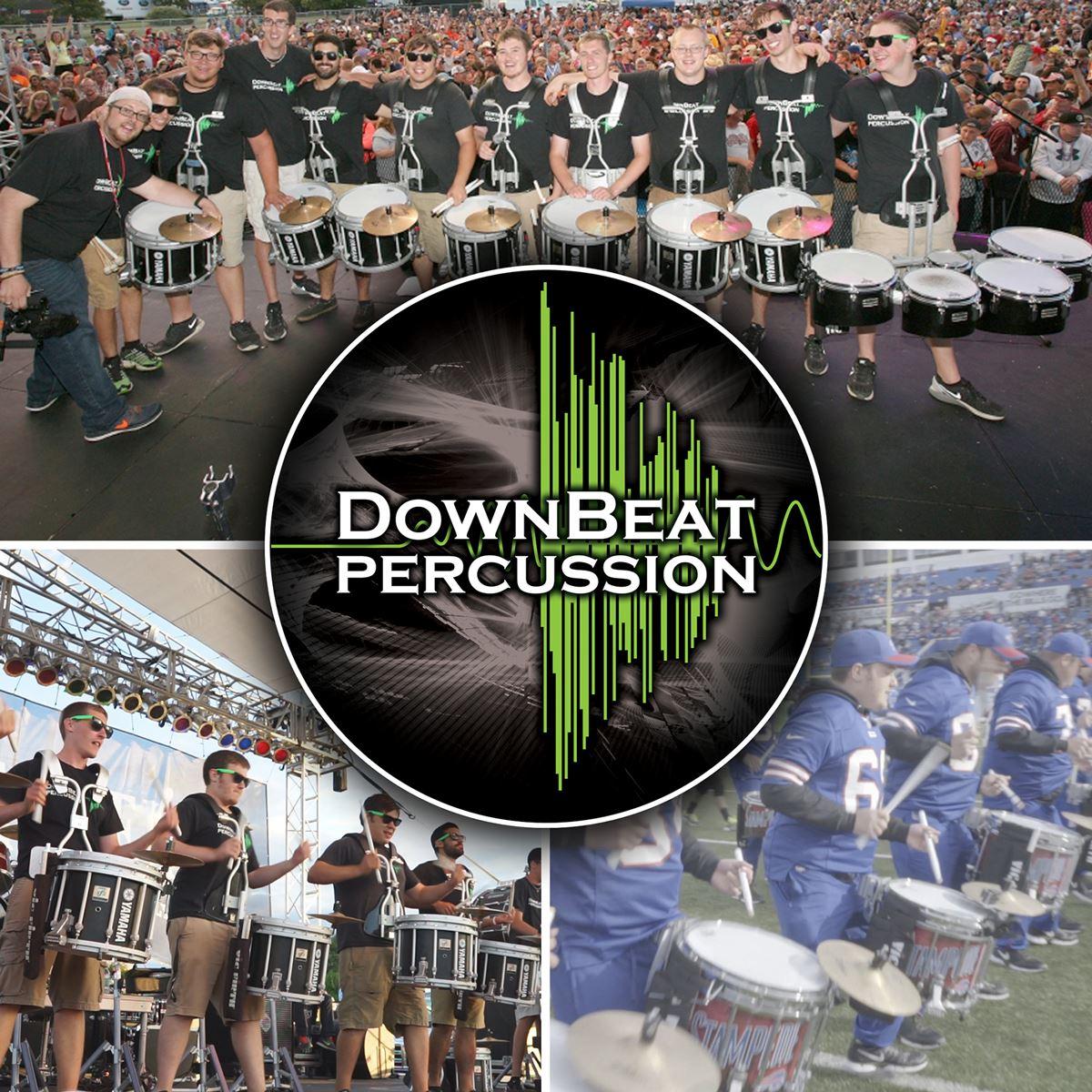 Photo of downbeat percussion